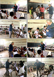 January 2Oth- Violin Master Class at KURUNEGALA  University